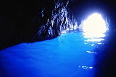 The Blue Grotto on Capri