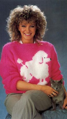 Fluffy Poodle Sweater posted by Redlandspoodles.com Funny Sweaters e8edcff335