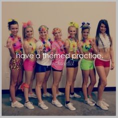 It would be so fun! #cheer #theme #practice