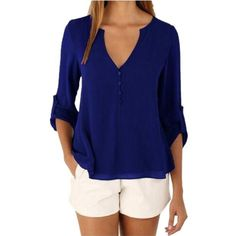 Shop a great selection of Women's Blouses and Shirts at 9th Wave. Shop floral, stripe, v-neck, o-neck, sleeveless Chiffon Blouse. Gender: Women Decoration: None Clothing Length: Regular Sleeve Style: