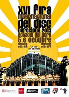 Feria internacional del disco de Barcelona 2013