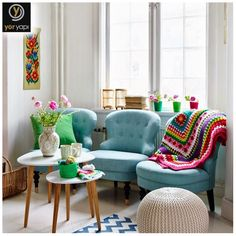 Renkli aksesuarlar kullanmak yaşadığınız yeri hareketlendirmenin en güzel yoludur! Herkese mutlu haftalar :) #decoration #design #colorful #homosweethome
