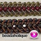 How to Do a Flat Spiral Stitch for Beading & Make a Bracelet   Beadaholique