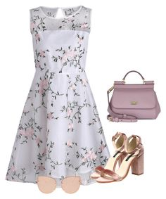 """""""Untitled #1070"""" by dlittlejohn on Polyvore featuring Dolce&Gabbana and Topshop"""