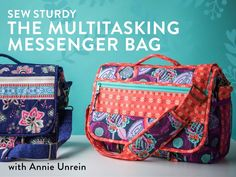 Sew a stylish and functional bag that's perfect for work, school, traveling and more – no quilting required!