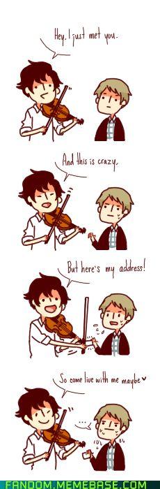 John would never call Sherlock crazy, I'm sure.