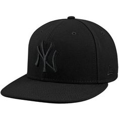 New Era New York Yankees Tonal 59FIFTY Fitted Hat - Black