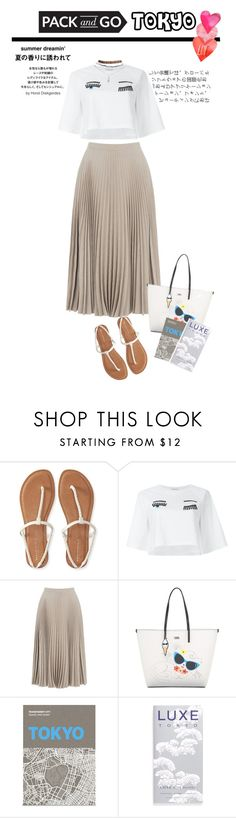 """""""Leave a little sparkle wherever you go"""" by yagmur ❤ liked on Polyvore featuring Jagger, Aéropostale, Chiara Ferragni, Warehouse, Karl Lagerfeld, Palomar, Luxe City Guides, Wet Seal, tokyo and Packandgo"""