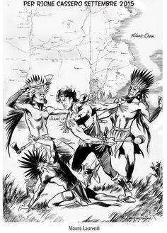Rione Cassero… in comics! - mostra - 2015 - notizie dal mondo del fumetto - fumettando il portale dei siti sui fumetti - W.B.