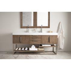 "Hulett 72"" Double Bathroom Vanity Set"