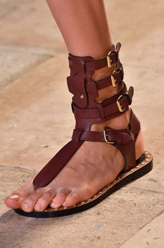 Isabel Marant at Paris Spring 2015 (Details) I didn't get these but I did get an even better pair! Always remember...This, or something better!