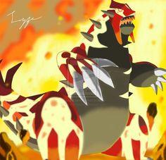 Pokemon: Omega Ruby Groudon by cherryflame on deviantART