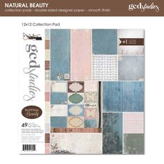 If you want a chance to win the entire Natural Beauty paper line... Leave a comment on the GCD Blog to be entered into the drawing. Winner will be announced on Jan 1st, 2013: http://gcdstudios.blogspot.com/2012/12/natural-beauty-by-donna-salazar.html