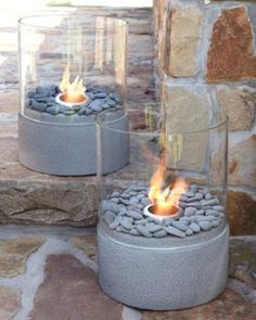 Outside, Landscaping, deck designs  Small Outdoor Firepit - Neiman Marcus