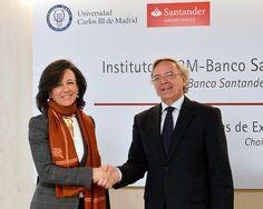 La UC3M y Banco Santander crean un Instituto pionero de Investigación en Big Data Financiero http://bsan.es/1F3cAUg 09/03/15
