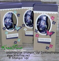 KreaTine: Milka Hasenparade und Löffel-Ei auf dem Thron