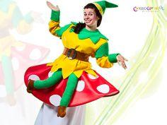 Alucina con este #disfrazcreatibo que te hemos preparado para tu #carnaval #disfraces #duende #carrozas www.todocarnaval.com