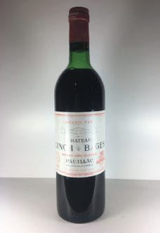 Château Lynch Bages 1978 Wine Prices, Lynch, Bordeaux, Red Wine, Alcoholic Drinks, Bottle, Glass, Drinkware, Bordeaux Wine