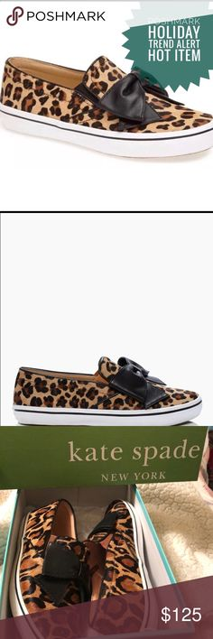 ⚡️FLASH SALE Kate Spade Delise Sneakers size 7.5⚡️ Brand new in box Kate Spade Delise Sneakers. Size 7.5. Sold out everywhere. Hot trend this season! kate spade Shoes Sneakers