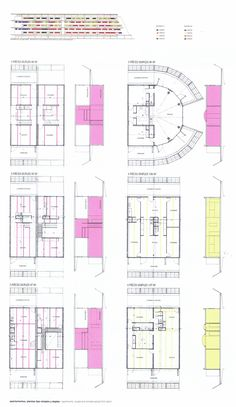 Case Study: Project Nemausus by Jean Nouvel Jean Nouvel, Montpellier, Shading Device, Social Housing, Case Study, House Plans, Floor Plans, Layout, How To Plan