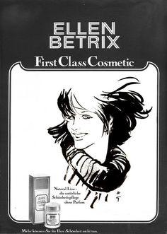ELLEN BETRIX -Années 1980 -Gruau