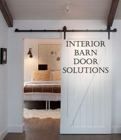 Interior Barn Door Solutions- great…