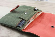 Pouch Bag, Pouches, Cigarette Box, Pouch Tutorial, Sewing Projects, Sewing Ideas, Leather Projects, Couture, Entryway Decor