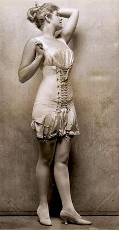 1920's Lingerie - Photo by Charles Gates Sheldon