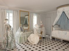 Installation at Versailles by Isabelle de Borchgrave