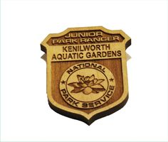 Kenilworth Aquatic Gardens has recently switched to environmentally friendly wooden Junior Ranger Badges. Contact https://www.nps.gov/kids/jrrangers.cfm to find out about Junior Ranger Programs in your area. @natlparkservice