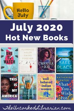 Books Releasing July 2020:  Are you wondering what to read next? Don't miss these new, upcoming, and most anticipated July 2020 book releases.  Discover book reviews for What You Wish For, Well-Behaved Indian Women, The Book of List Names, One To Watch, The Safe Place, and so much more. Great Books To Read, Read Books, My Books, Book Club Books, The Book, Books By Black Authors, International Books, Reading Rainbow, Reading Challenge