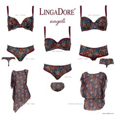 Meet Nayeli of the LingaDore - Autumn | Winter 2014/'15 collection. Available in stores and on http://www.lingadore.com/search?all=nayeli.