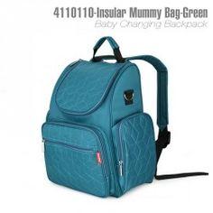 4110110-Insular Mummy bag -Green