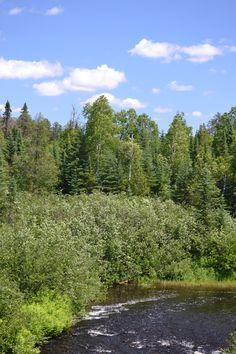 South Brule River, Gunflint Trail, Minnesota