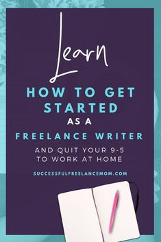 Do you love to write? Do you have a knack for making words come alive on a page? You may want to consider freelance writing as a way to make a good living from home. Freelance writers write anything from newspaper columns to web c Creative Writing Jobs, Freelance Writing Jobs, Writing Tips, Ways To Earn Money, Earn Money Online, How To Make Money, Online Jobs, Making Words, Writers Write