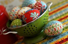 learn how to sew your own fabric easter eggs :: tutorial by retro mama