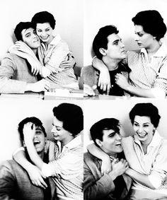Elvis / Loren. Happy together.