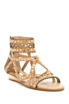 BCBG Brianna Embellished Gladiator Sandal by Non Specific on @HauteLook
