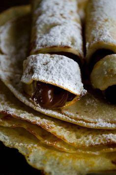 Very Thin Gluten Free Crepes | giverecipe.com | #crepes #glutenfree #riceflour…