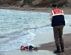I can't stop thinking about Aylan Kurdi and I'm damn sure you can't either if you've seen the photo-Piers Morgan 9/3/2015