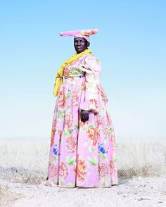 """""""From the book Costume and Conflict: The Herero Tribe of Namibia. Photography by Jim Naughten #SUNUnotes #SUNUjournal"""""""