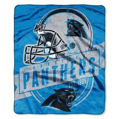 Carolina Panthers NFL Royal Plush Raschel Blanket (Grand Stand Raschel) x Nfl Gear, Football Gear, Team Gear, Football Stuff, Carolina Panthers Gear, Nfl Panthers, Win Or Lose, Nfl Shop, Plush