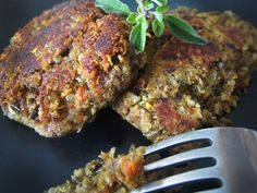 Lentil & Quinoa Breakfast Patties