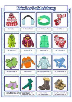Bildwörterbuch_ Winterbekleidung