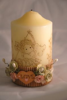 candle for my angel.