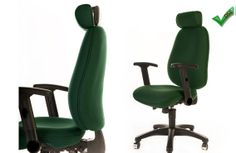 Office posture chair available in 3 sizes petite, standard or tall #ergonomics #officechairs