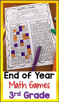 Math games third grade by games 4 learning - this collection of end of year Third Grade Math Games, High School Quotes, Education Quotes For Teachers, End Of Year, Kindergarten Activities, Math Lessons, Learning, Collection, Classroom Management