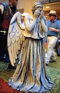 Weeping Angel Costume from Dr. Who