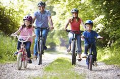 family bike ride, fun & inexpensive spring activities to do as a family Fitness Activities, Summer Activities For Kids, Family Activities, Physical Activities, Outdoor Activities, Preschool Family, Cycling Workout, Bike Workouts, Family Fitness