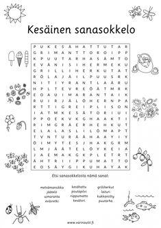 Kesä - Värinautit My Books, Kindergarten, Reading, Words, School, Pictures, Photos, Kindergartens, Reading Books